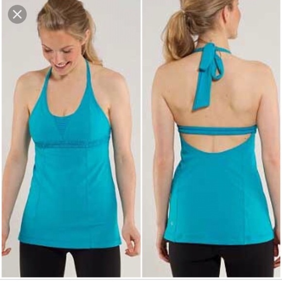 4095b2524f lululemon athletica Tops - Lululemon Dignity Halter Top